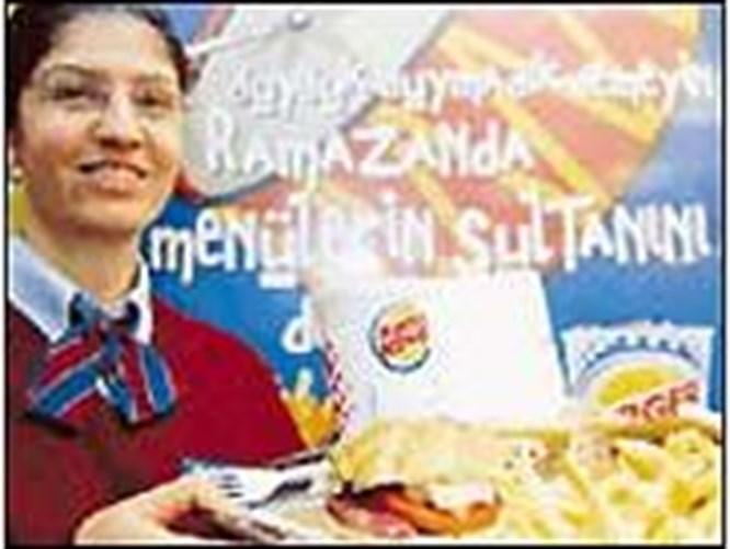 Fast-food da imana geldi!